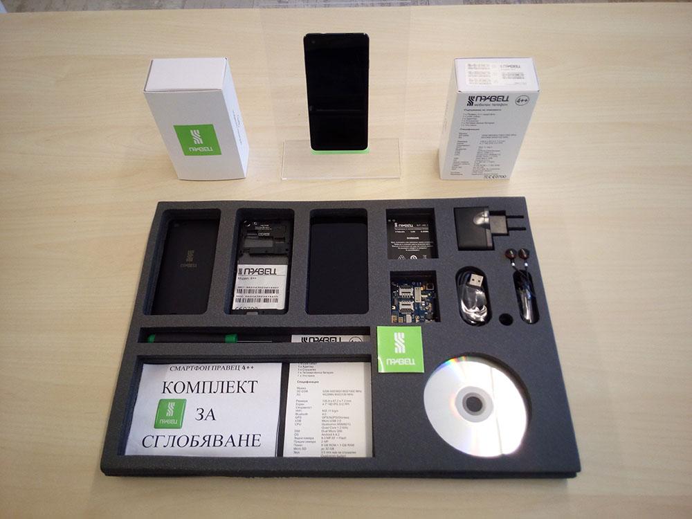 Комплект за сглобяване на смартфон ПРАВЕЦ
